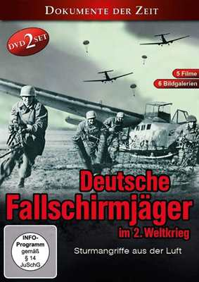 Deutsche Fallschirmjäger im 2. Weltkrieg, 2 DVDs