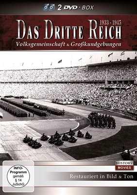 Das Dritte Reich - Volksgem. & Großkundg., 2 DVDs