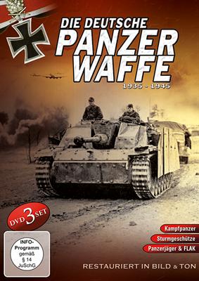 Die deutsche Panzerwaffe 1935-1945, 3 DVDs