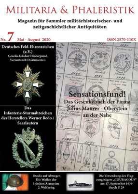 Militaria & Phaleristik - Ausgabe 7 (2020)