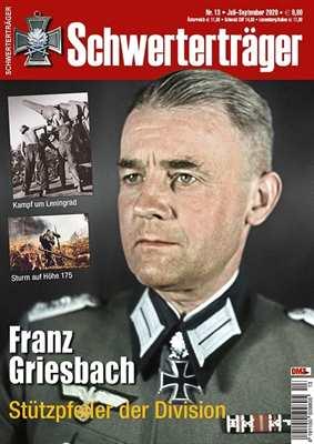 Schwerterträger Nr. 13/2020 - Franz Griesbach