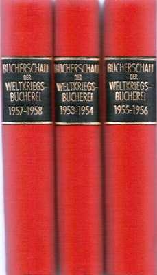Bücherschau der Weltkriegsbücherei 1955-1956