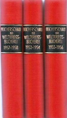 Bücherschau der Weltkriegsbücherei 1957-1958