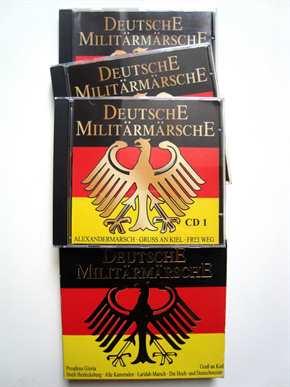 Musikalia - Deutsche Militärmärsche, 3 CDs