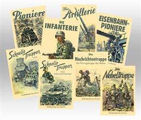 Konvolut - Waffenhefte des Heeres 8 Stück!