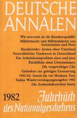 Deutsche Annalen 1982