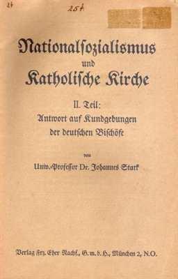 Stark: Nationalsozialismus und Katholische Kirche