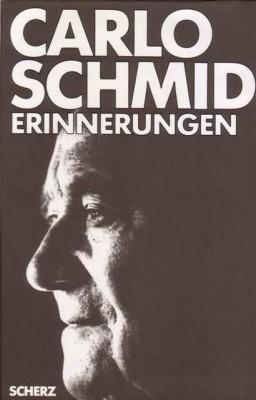 Schmid, Carlo: Erinnerungen