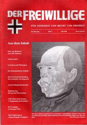 Munin Verlag (Hrsg.): Der Freiwillige Juli 1998