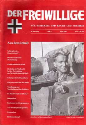 Munin Verlag (Hrsg.): Der Freiwillige April 1998