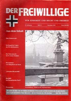 Munin Verlag (Hrsg): Der Freiwillige Dezember 1999