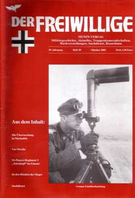 Munin Verlag (Hrsg.): Der Freiwillige Oktober 2003
