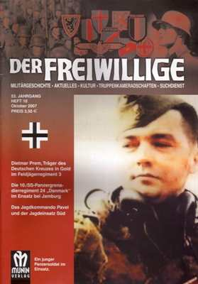 Munin Verlag (Hrsg.): Der Freiwillige Oktober 2007
