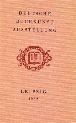 Deutsche Buchkunst-Ausstellung 1952 Leipzig