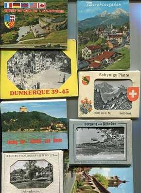 Konvolut: Donau,Bebenhausen,Berchtesgaden,Schynige