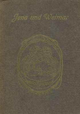 Almanach 1908 : Jena und Weimar